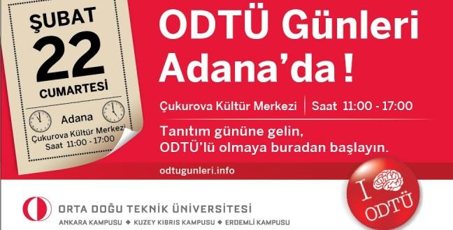 Adana'da ODTÜ Günleri