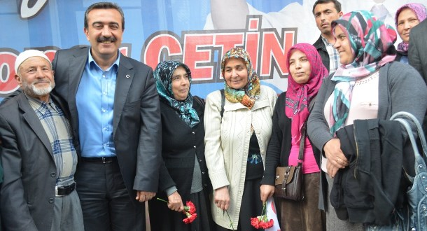 CHP Adayı Çetin: hedef Yüzde 50 Üzeri