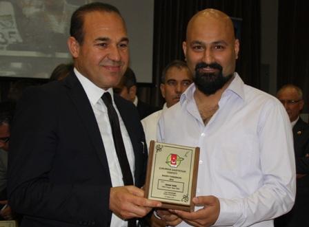 Soner Kan'a TSYD Ödülü
