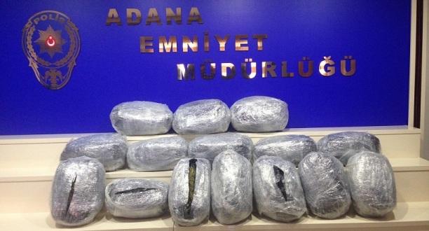 Adana'da Uyşturucu Operasyonu
