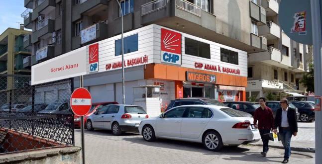 Adana CHP Yeni binasında
