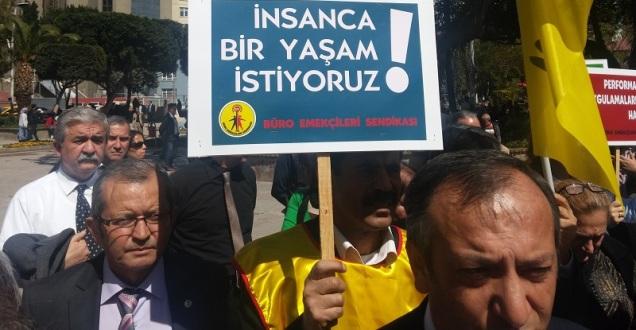 Adana'da Maliyeciler Alanlarda