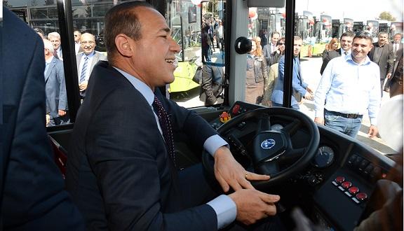 Adana'nın Otobüsleri Adana Yollarında