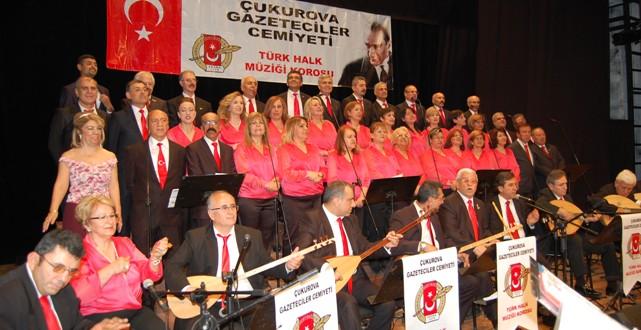ÇGC Korosu'ndan  Türkü şöleni