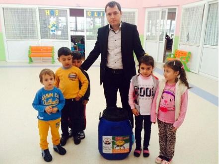 Kozan'da Atık Yağ Toplama Kampanyası