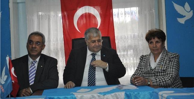 DSP Lideri Türker Adana'ya geliyor