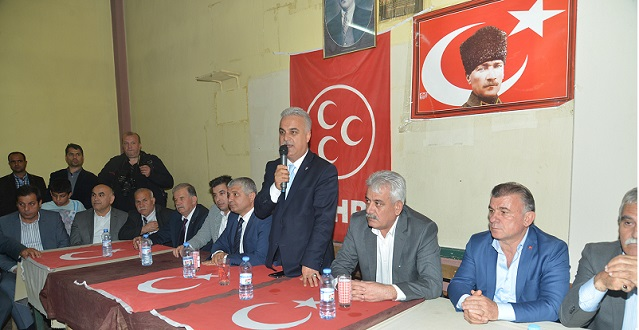 MHP Adayları Sahaya İndi