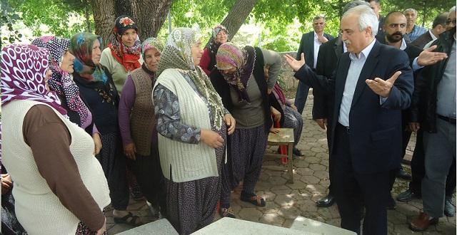 CHP Adayı Feke, Kozan, İmamoğlu ve köylerinde
