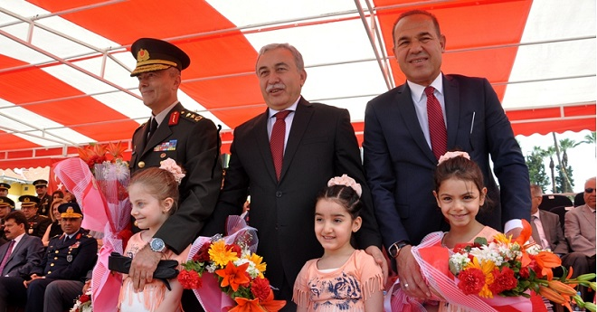 Adana'da Kutlandı