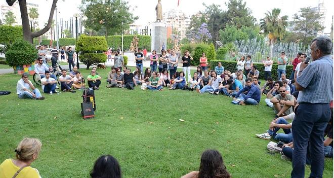 Atatürk Parkında Nükleer Karşıtı Forum (3)