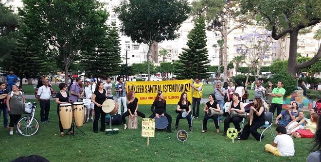 Adana'da Nükleer Karşıtı Forum