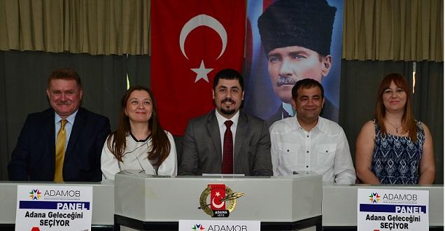 """ADAMOB'dan """"Adana Geleceğini Seçiyor"""" Paneli"""