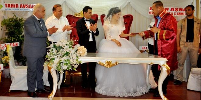 Adana ASKİ Spor düğünde buluştu
