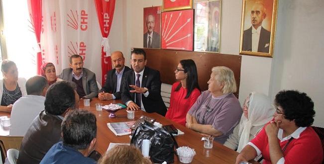 CHP İl Başkanı Bulut'u Sinirlendirdiler