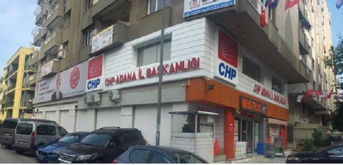 CHP Adana Kiralık Binasına Taşındı
