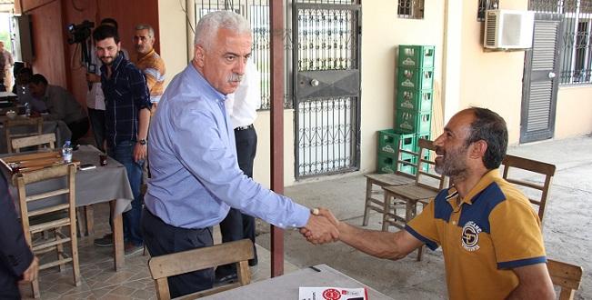 CHP Adayları Esnaftan Destek İstiyor