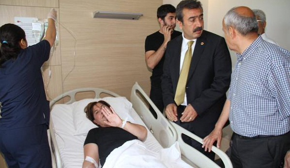 CHP Adayı Elif Doğan Türkmen Hastanede