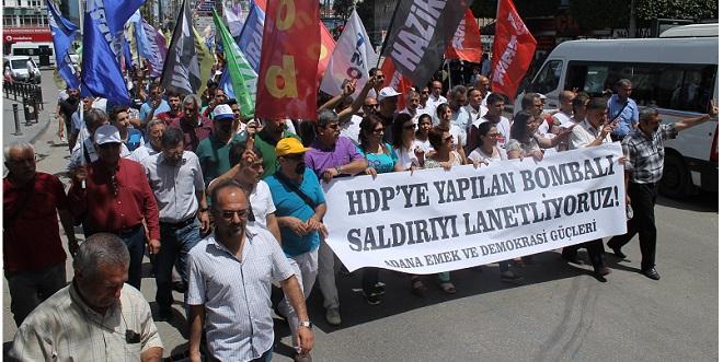 HDP'nin Bombalanmasına Tepki