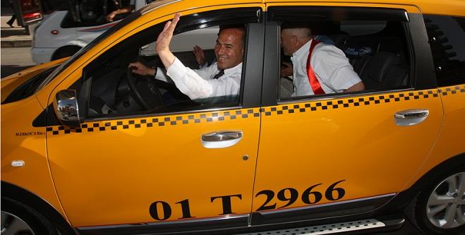 Sözlü  Takside  Şoför!
