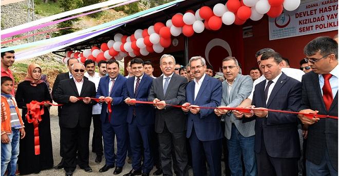 Kızıldağ'da Semt Polikliniği