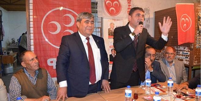 MHP Adayı Arslan Ceyhan'da