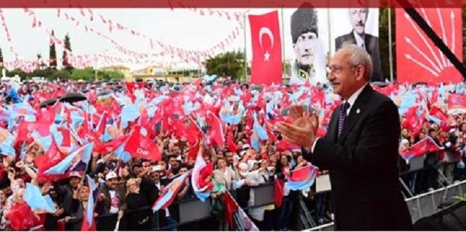 Adana'da Kılıçdaroğlu Hazırlığı