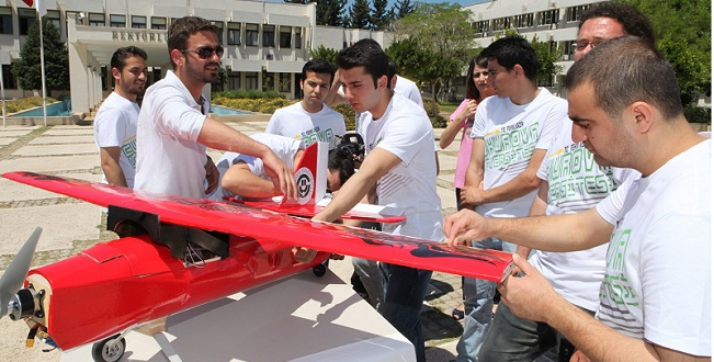 Öğrencilerden İnsansız Hava Aracı