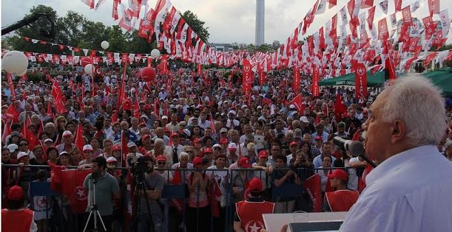 Perinçek: Adana'da Alan Bizim