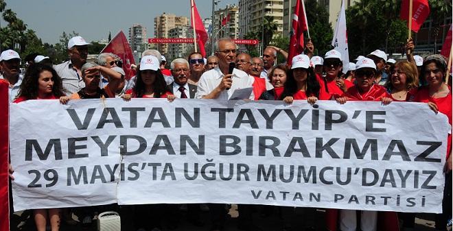 Perinçek, Adana'da izinsiz toplanacak