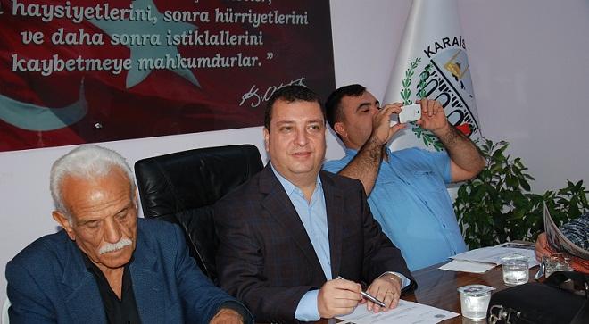 Adana'da AKP'den İstifa