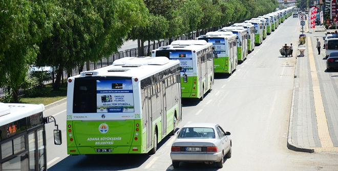 Adana'ya TEMSA'dan 20 otobüs