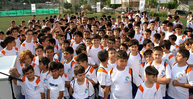 Çukurova'da Yaz Spor Okul