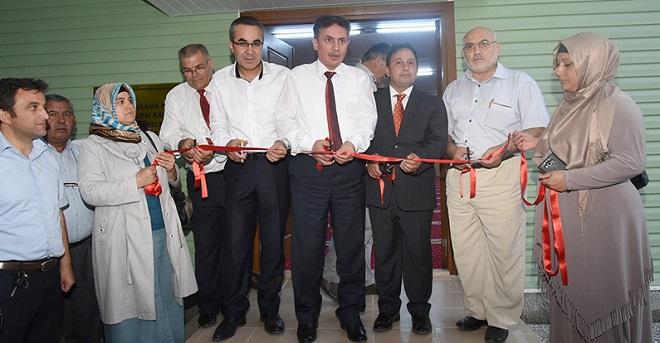 MHP'li Başkandan Uygulamalı Mescit Açılışı