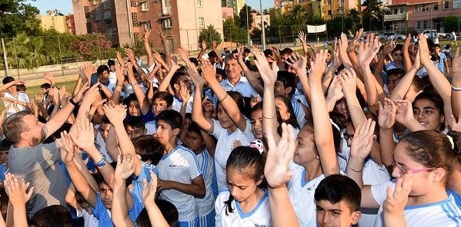 Seyhan'da Emek Yaz Spor Okulu