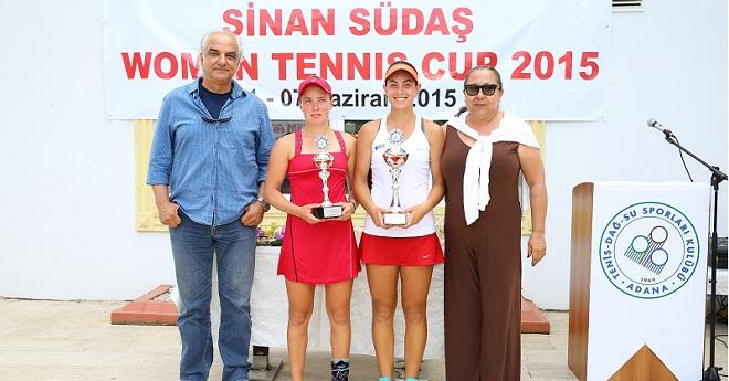 Sinan Südaş Kupası Aksu ve Sezer'e