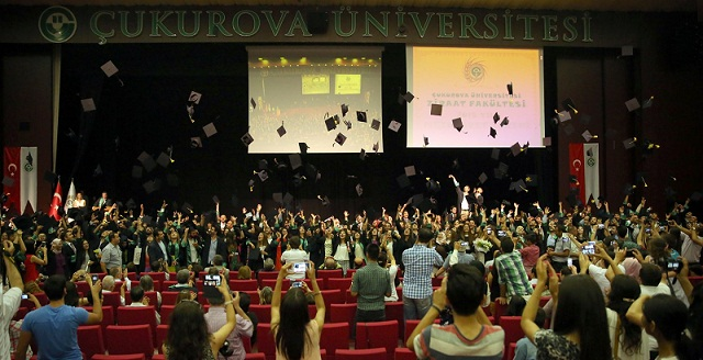 ÇÜ'de 225 Ziraat Mühendisine Diploma