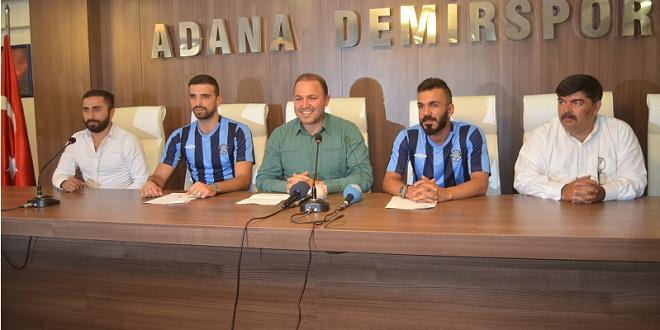 Emrullah Ve Uğur Adana Demirspor'da