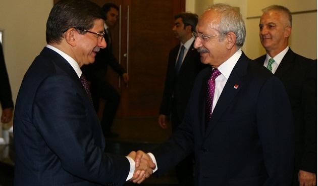 AKP'den CHP'ye Koalisyon Ziyareti