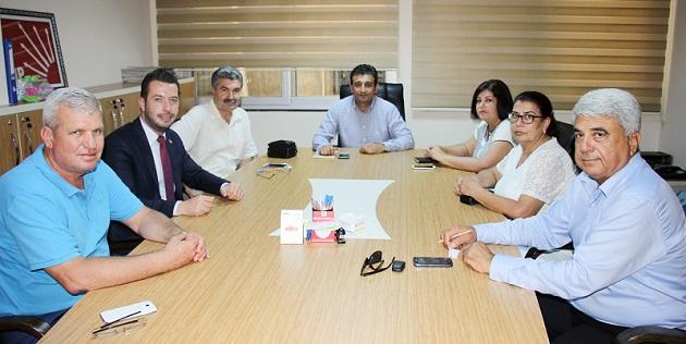 Bulut'un atadığı başkanlarla fotoğrafı