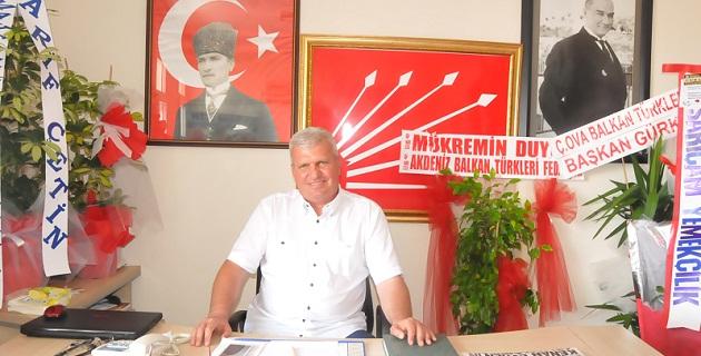 CHP Sarıçam'da Celal Güven, Güven Tazeledi