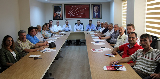 CHP örgütlerinde Seçim Hazırlığı