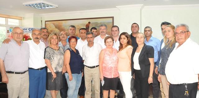 Seyhan CHP'de Kolcu'nun Yardımcıları