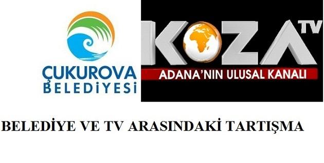 Çukurova Belediyesi ve Koza TV, Türkiye gündeminde