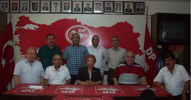 Adana DP'ye Kadın Başkan