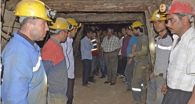 Maden Kazasında yine gözyaşı