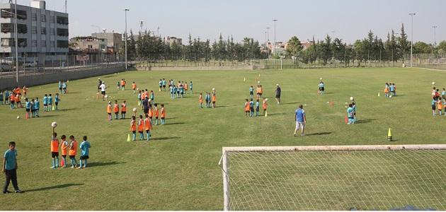 Adana'da Futbol Fidanlığı