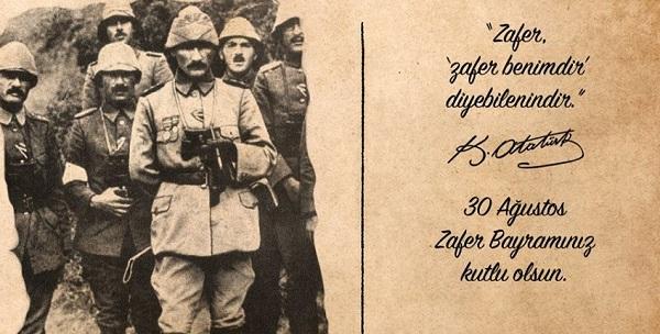 """""""30 AĞUSTOS'U ATATÜRK'ÜN ORDUSU KAZANDI"""""""