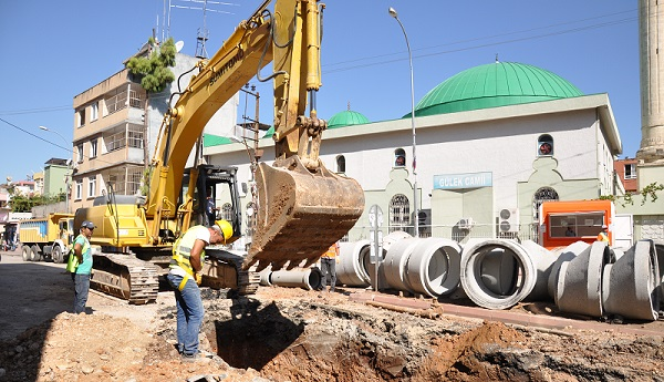 Abdi İpekçi'ye Kanalizasyon