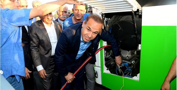 Büyükşehir otobüslerinde doğalgaz kullanımı başlıyor