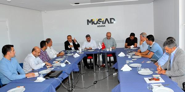 Adana'nın geleceği ve sorunlarını tartıştılar